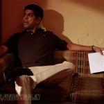 Murli Sharma on the Line of Kurt Russell