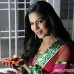 Veena Malik Celebrates Diwali
