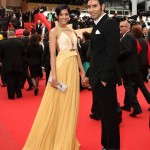 Sandip Soparrkar and Jesse at cannes