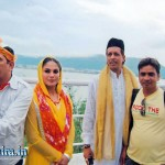 Veena Malik at Ajmer Sharif Shrine